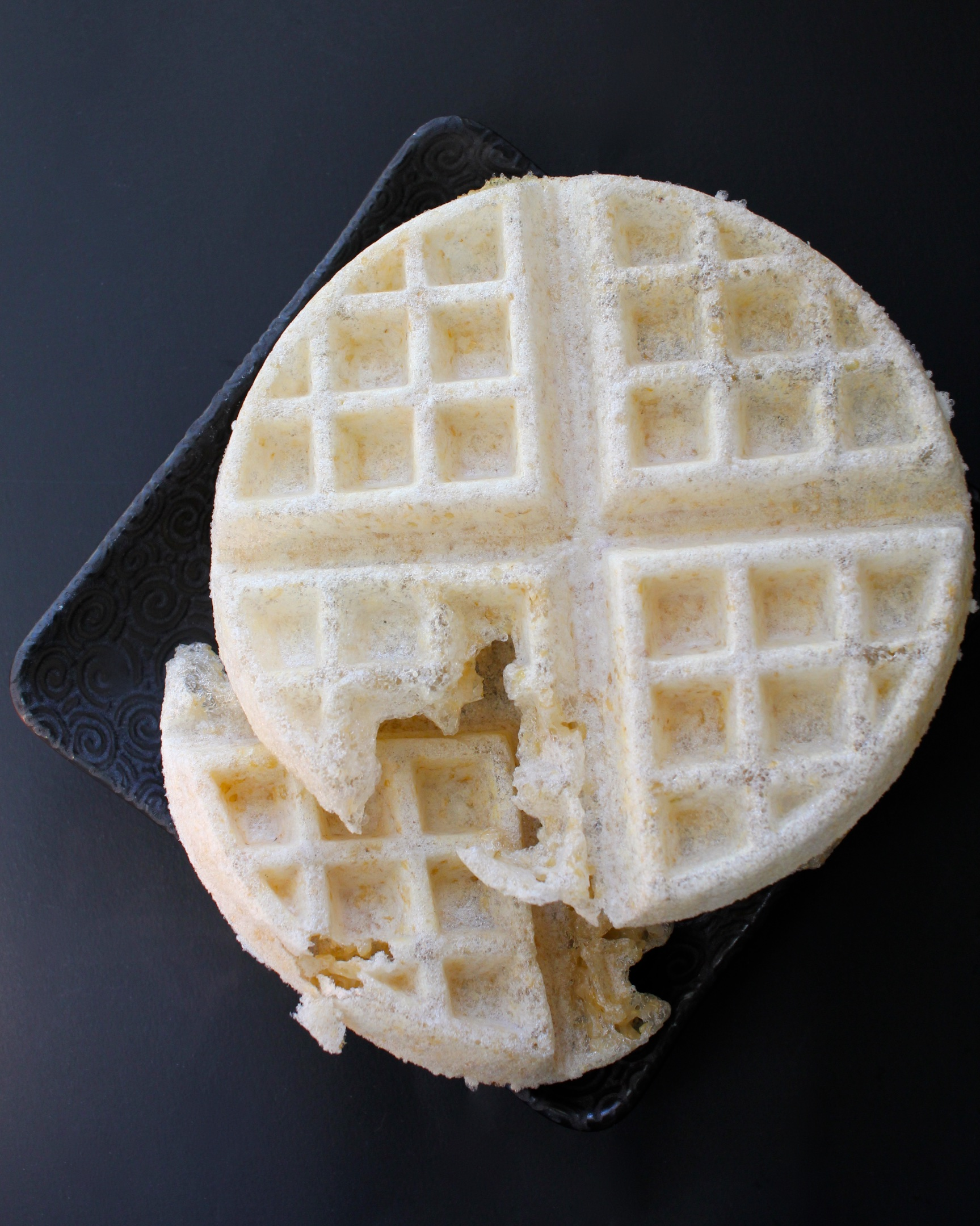 Brown Rice Moffles (Mochi Waffles)