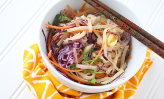 Veggie-Packed Pad Thai