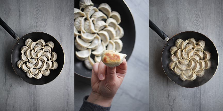 Homemade Gyoza