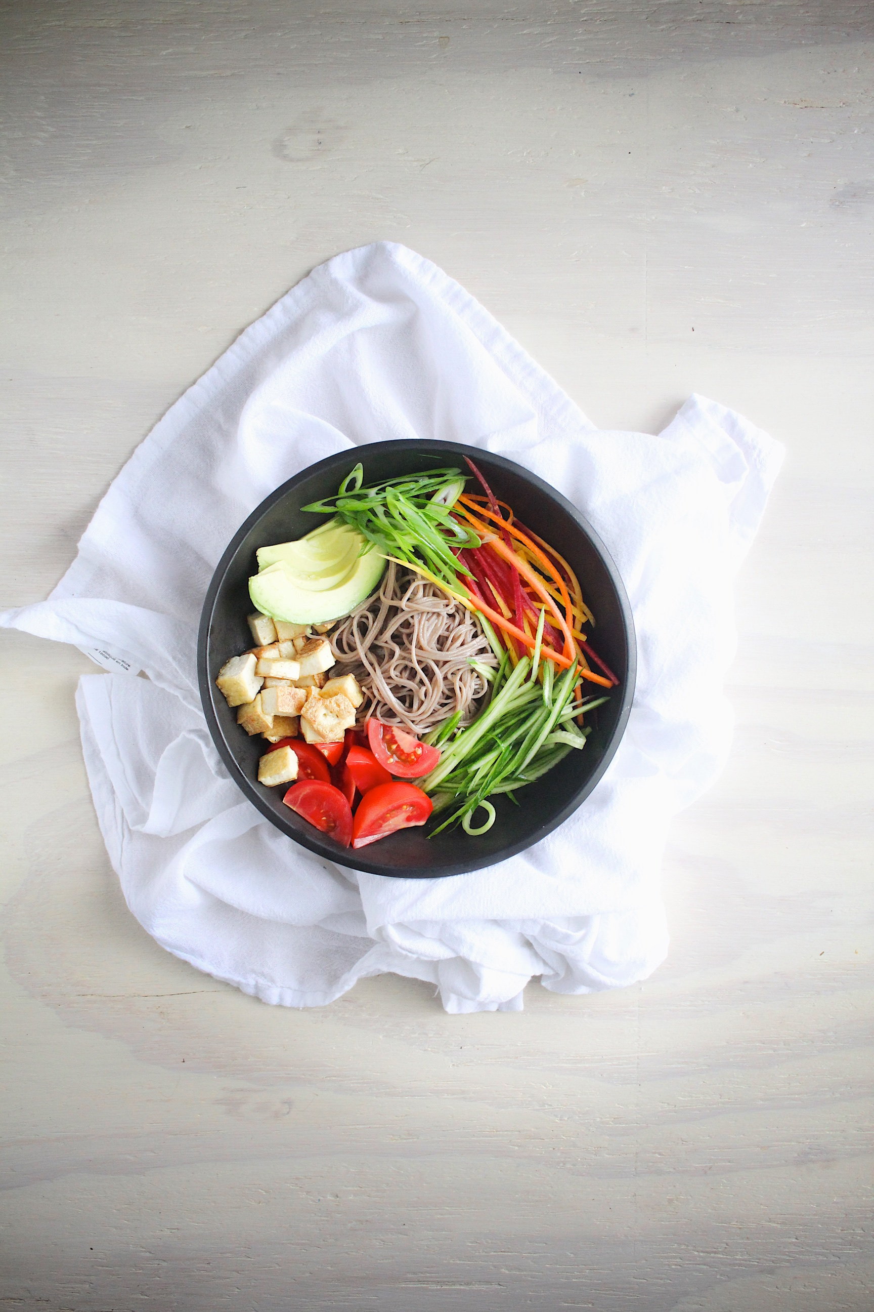 soba & veg bowls