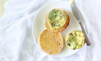 spinach & mushroom mini frittata2