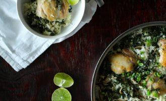 30-minute coconut chicken & rice