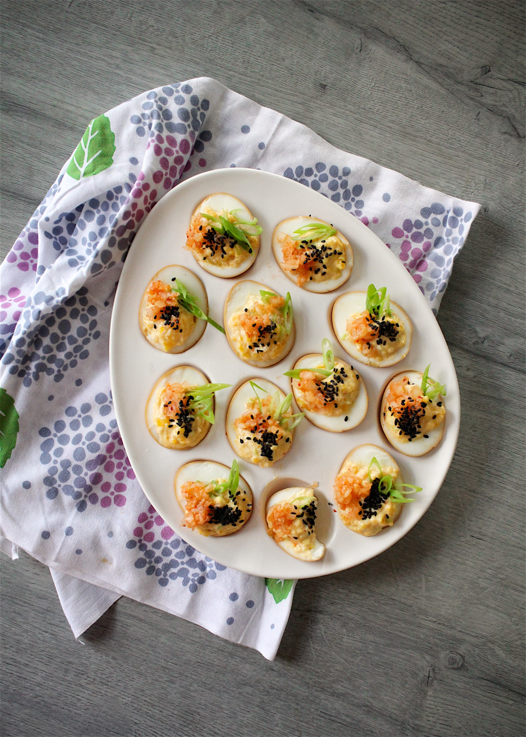 Japanese Deviled Eggs